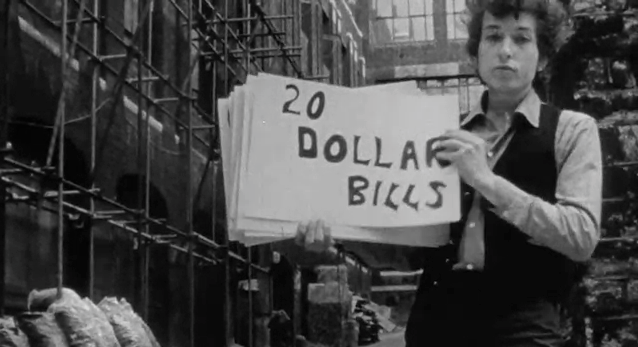 Bob Dylan Plays Loose with the Lyrics of his Subterranean Homesick Blues